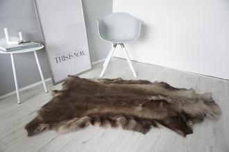 Genuine Super Soft - Extra Large Scandinavian Reindeer Skin Rug  eRE 24