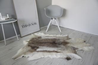 Genuine Super Soft - Extra Large Scandinavian Reindeer Skin Rug  RE 396