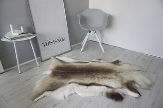 Genuine Super Soft - Extra Large Scandinavian Reindeer Skin Rug  RE 397