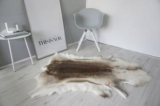 Genuine Super Soft - Extra Large Scandinavian Reindeer Skin Rug  RE 398
