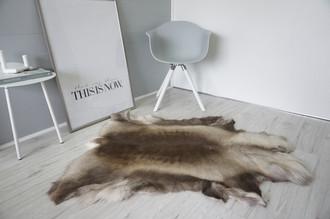 Genuine Super Soft - Extra Large Scandinavian Reindeer Skin Rug  RE 401