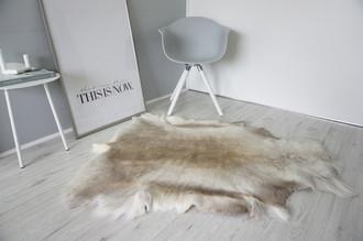 Genuine Super Soft - Extra Large Scandinavian Reindeer Skin Rug  RE 404