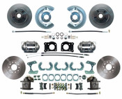 DBK6473-9  - 1964.5-1973 Ford Mustang Front & Rear Disc Brake Conversion