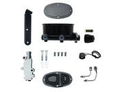 MCK260-8555-2  -  Oval Master Cylinder Kit w/ Aluminum Proportioning Valve Kit (Disc/ Drum)