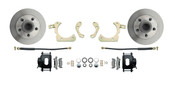 DBK6568-B  - 1965-1968 Full Size Chevy Complete Disc Brake Conversion Kit w/ Powder Coated Black Calipers