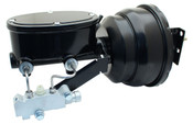 """GMFS1-401  1955-1958 GM Full Size 8"""" Dual Powder Coated / Wilwood Oval Style Master Booster Conversion Kit (Disc/ Drum)"""