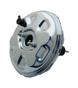 "PB11002CHR- GM A, F, X 11"" Chrome Delco Style Power Brake Booster"