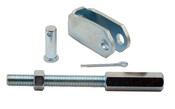 "PRE5564 KIT  -  Universal 4 3/4"" long Pedal Rod Extension & Clevis"