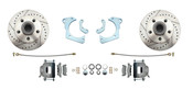 DBK6568LX  1965-1968 Impala, Bel Air GM Full Size Chevy High Performance Disc Brake Kit