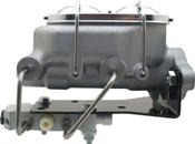 MCK112BM - Universal Aluminum Proline Master Cylinder w/ Bottom Mount Disc/ Drum Proportioning Valve