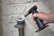 Master GT-70 Butane Torch Loosening Rusted Bolt