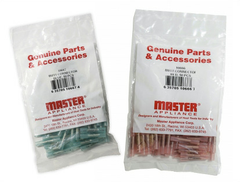 10813 - 18-20 AWG, Red, #10 Stud - 50 Pack
