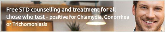 Free STD counselling and treatments for all those who test- positive for Chlamydia, Gonorrhea or Trichomoniasis.