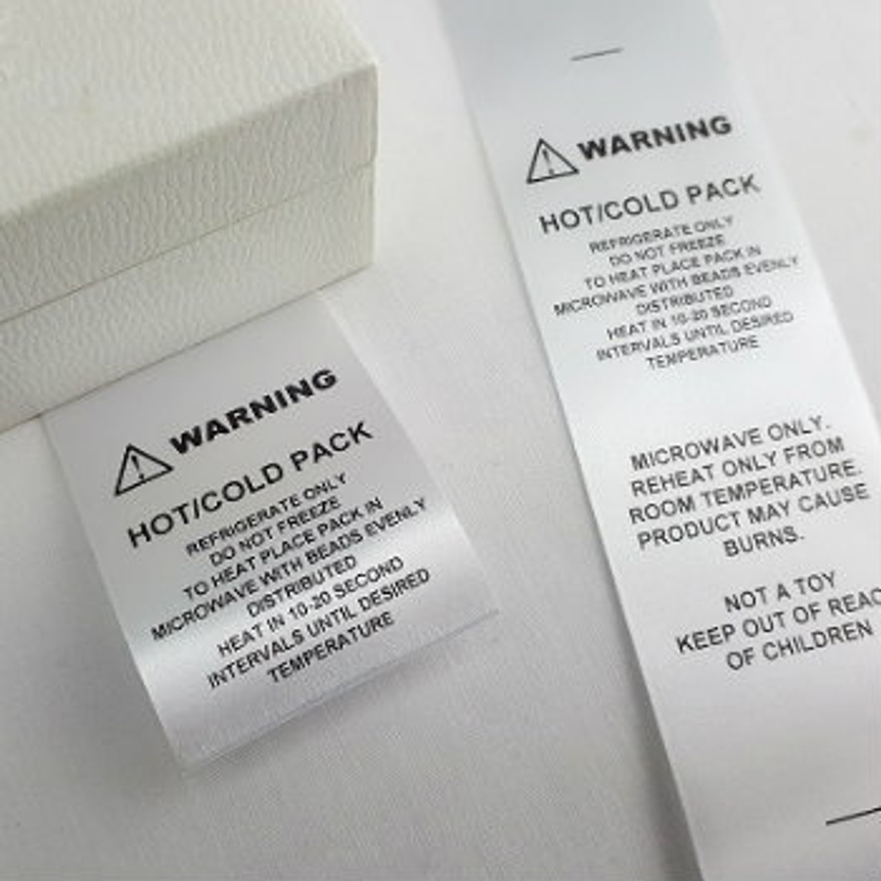 Custom Order Washing Care Clothing Labels  by Ted + Toot Labels