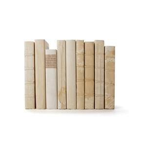 Ivory Book Stack