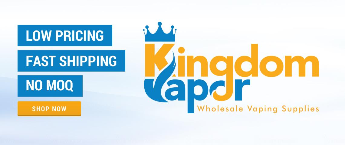 Kingdom Vapor banner Wholesale Vaping Supplies