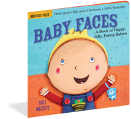 Indestructible Baby Faces Book