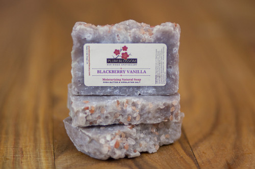 BLACKBERRY VANILLA Salt Soap bar
