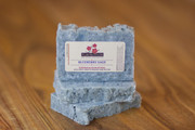 BLUEBERRY Poppy Seed Exfoliating Soap