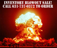BILL MITCHELL'S GARAGE SALE, INVENTORY BLOWOUT!