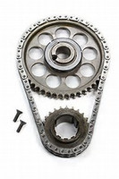 "ROLLMASTER Ford Big Block 429/460 PRE/EFI Gold Series with torrington bearing & nitrided sprockets, 9 keyway crank sprocket, -.005"" shorter chain CS4020LB5"