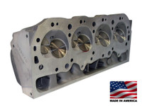 "Bill Mitchell Products Cylinder Heads Aluminum Chevy Big Block 020660C-B 375cc 119cc 24Degree 2.300"" x 1.880"" CNC PORTED,  Unassembled (EACH)"