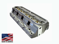 Bill Mitchell Products BMP Small Block Ford 18 degree 228cc Aluminum Heads CNC Ported