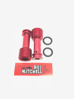 Small Block Chevy BMP, World Products, Dart, Newer Style GM Blocks Oil Restrictor Kits