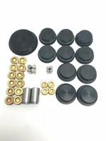 409 Chevy Screw in freeze plug, NPT plug and dowel pin kit for BMP aluminum block