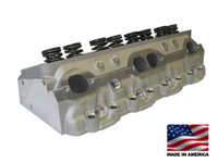 Bill Mitchell Products BMP SBC 23 degree 215cc Vortec Style Aluminum Heads