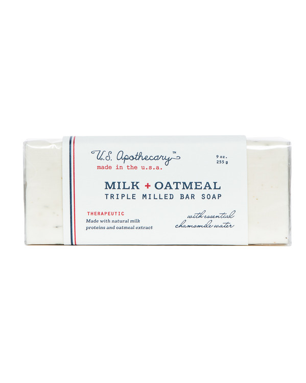 Milk + Oatmeal Triple Milled Bar Soap