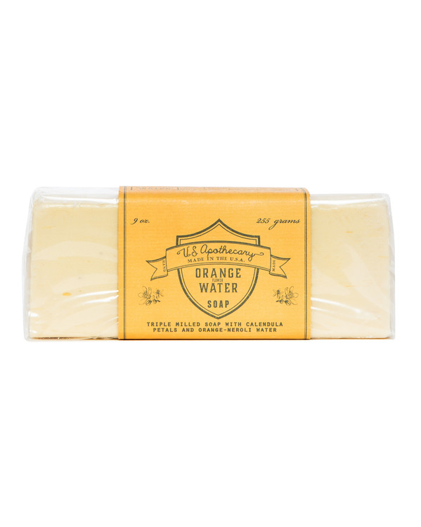 Orange Water Triple Milled Bar Soap