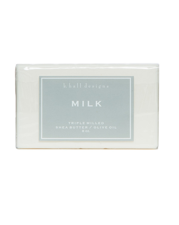 Milk Triple Milled Bar Soap