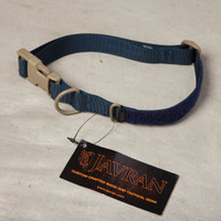 Alpha Dog Tactical Collar: Navy/Tan
