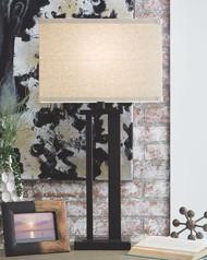 Aniela Bronze Finish Metal Table Lamp (2/CN)