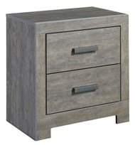 Culverbach Gray Two Drawer Night Stand