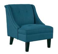 Clarinda Blue Accent Chair