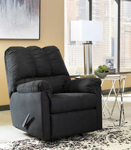 Darcy Black Rocker Recliner