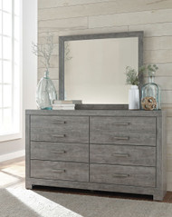 Culverbach Gray Dresser & Mirror