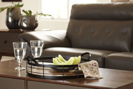 Diantha Black/Natural Tray
