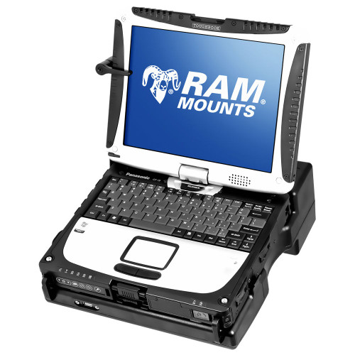 RAM Tough-Dock with Toughbook in notebook configuration