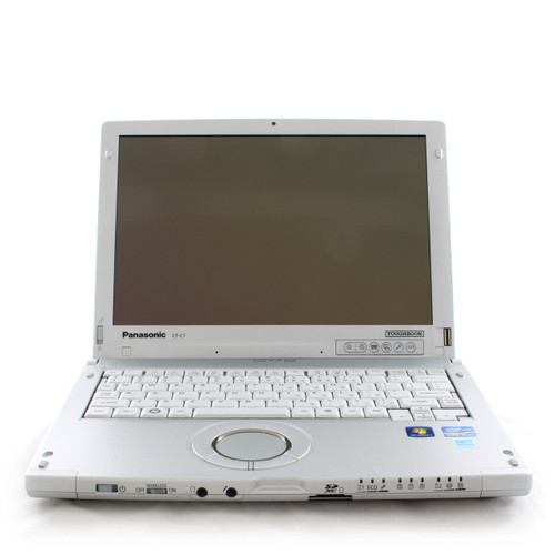Toughbook CF-C1 front view (fingerprint reader included)