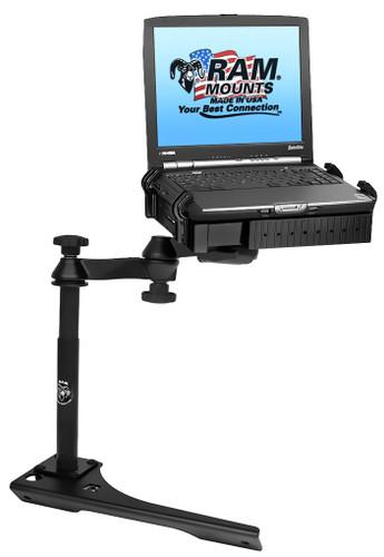 No-Drill™ Laptop Mount for the Dodge Citadel, Durango & Jeep Grand Cherokee