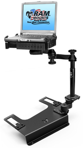 OPEN BOX -- No-Drill™ Laptop Mount for the Chevrolet Silverado 1500/2500/3500, Suburban, Tahoe, GMC Sierra 1500/2500/3500