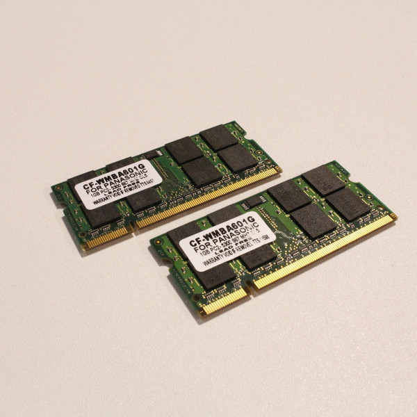 Panasonic 1GB Memory (Pack of 2)