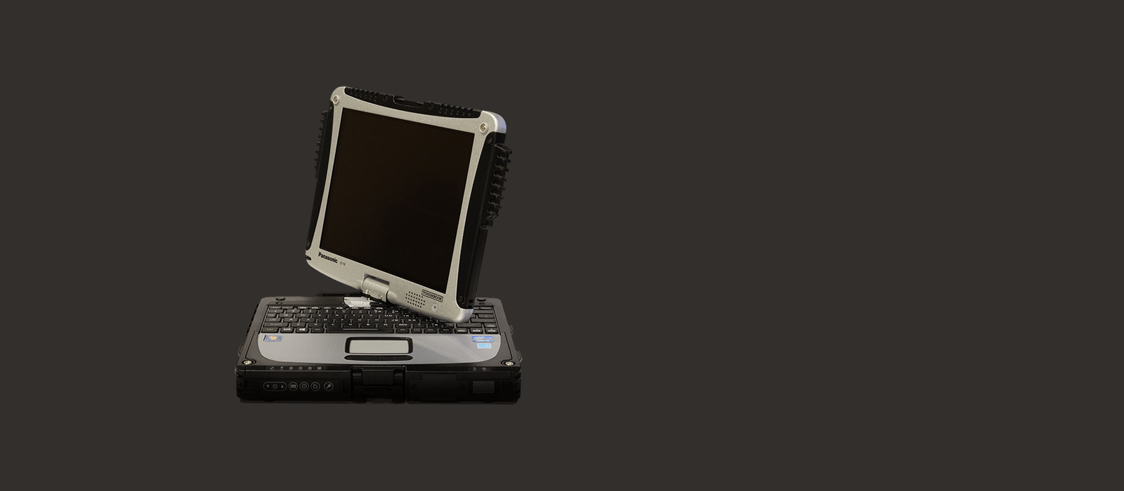 close-up view of a Toughbook CF-30