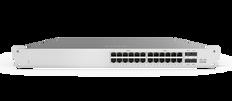 Meraki MS120-24P 1G L2 Cloud Managed 24x GigE 370W PoE Switch