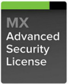 Meraki MX60 Advanced Security License, 1 Year