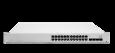 Meraki MS225-24 L2 Stck Cld-Mngd 24x GigE Switch