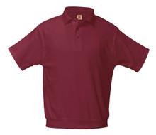 Interlock Overshirt Ss-Wine